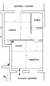 Piano terra Casa Iris