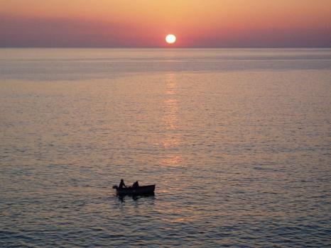 tramonto a Pomonte