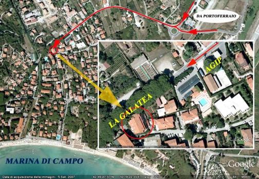 Mappa La Galatea