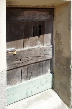 la porta della cantina