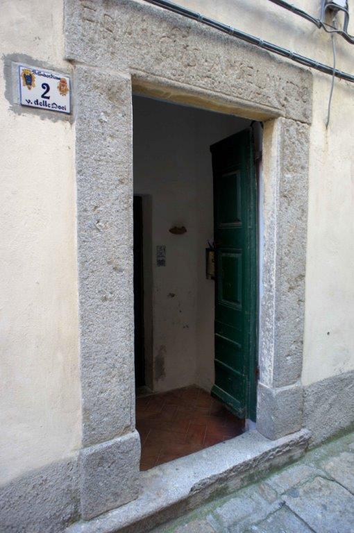 Casa Francus Anselmi del 1738 a Marciana