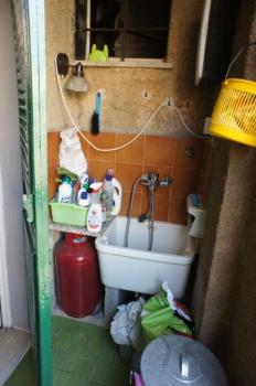 utility su terrazzo interno