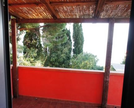 vista dal balcone 1° piano 1
