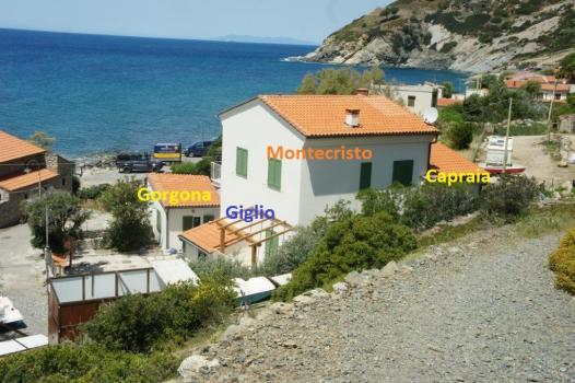 IL QUARTIERE con Montecristo, Giglio, Capraia, Gorgona