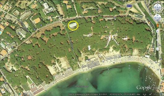 posizione google earth a-4