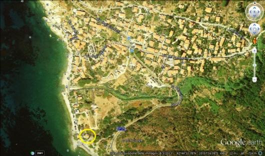 IL QUARTIERE a Pomonte foto satellite a