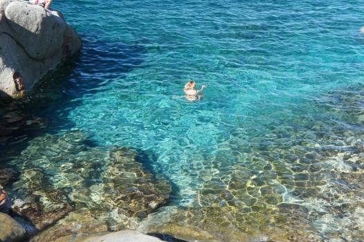 bagno a Pomonte Calello settembre