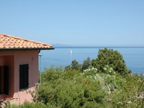 Villa Eva Cotonello Blick aufs Meer