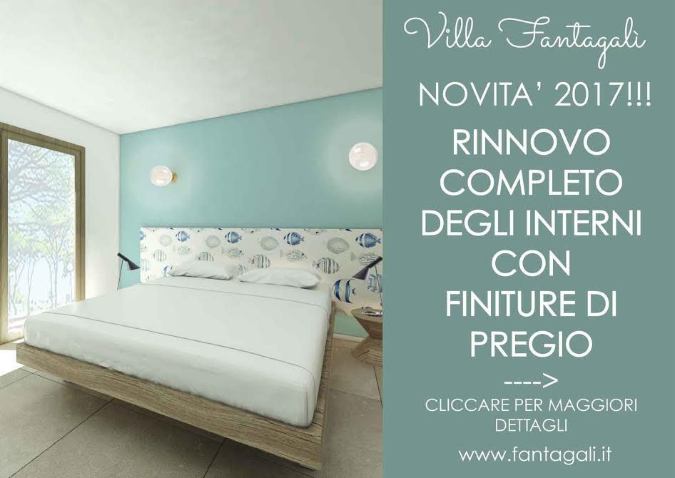 Villa Fantagalì - App. 501 a 30mt dal mare