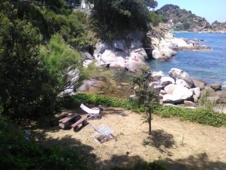 zona relax sulla spiaggia