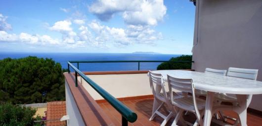 terrazza verso Capraia