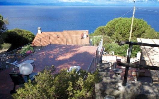 terrazza vista Corsica