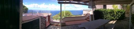panoramica da terrazza centrale