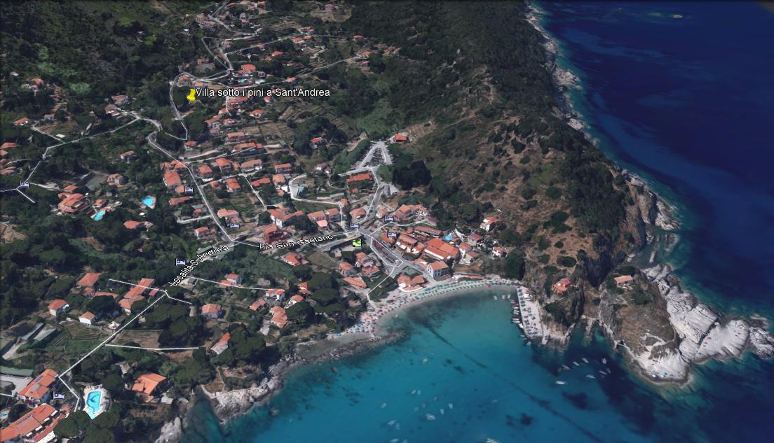 Villa panoramica con ampio terreno a Sant'Andrea