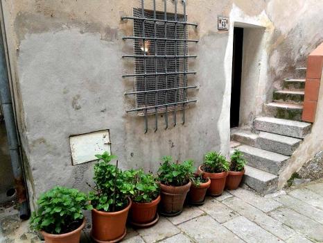 Ingresso da Via Sant'Agapito