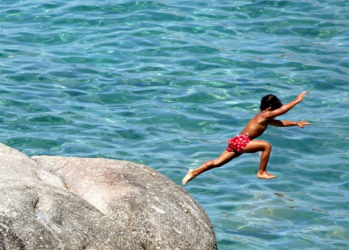 salto dall ippopotamo