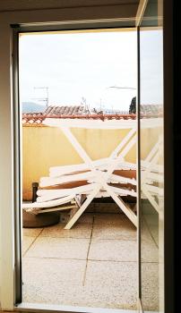 porta sul terrazzino