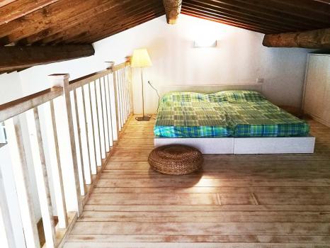 soppalco - camera da letto