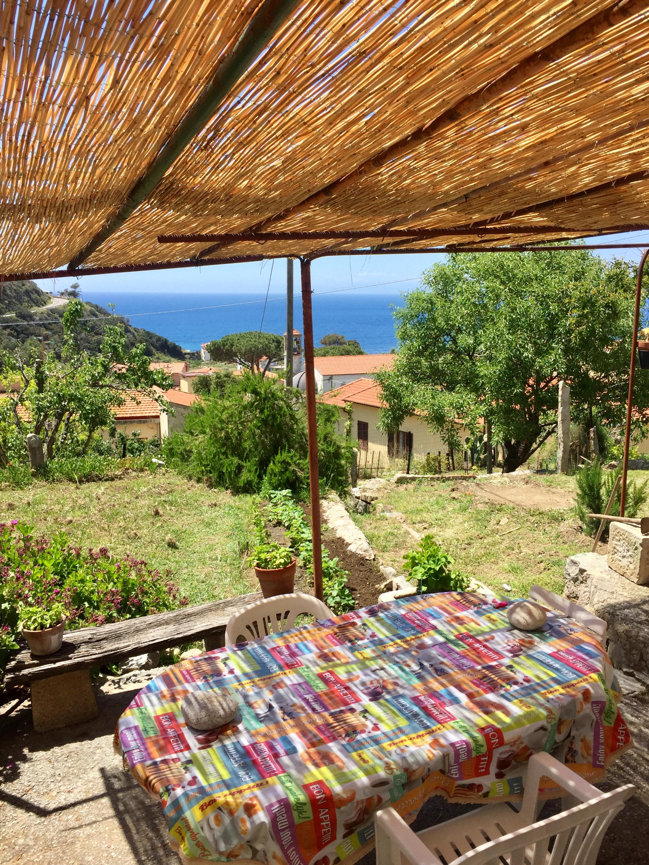 Monolocale Ibisco con veranda e vista mare
