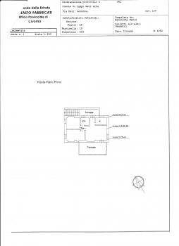 Planimetria primo piano aggiornata con terrazzo