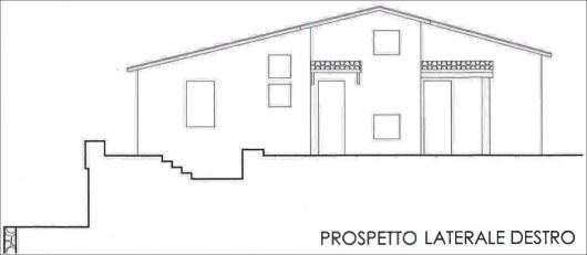 Prospetto laterale dex