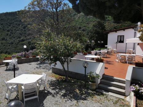 le due terrazze del ristorante